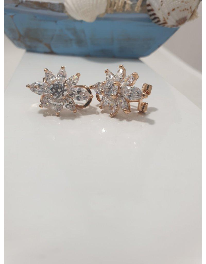 Ere0012 - Rose Gold -  Earring