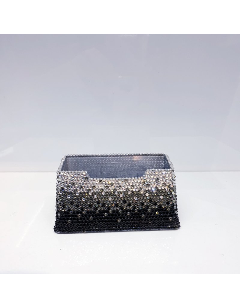 60220070 - Two tone Silver and Black Card holder