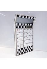 60230047 - Black ,white and Silver Calculator
