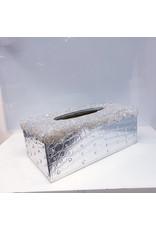 60250155 - Tissue Box Silver