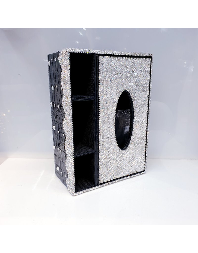 60250201 - Multi Tissue Box with Compartments