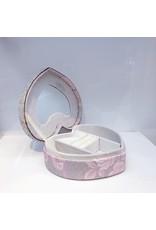 60250220 - Heart Patterned Jewellery Box