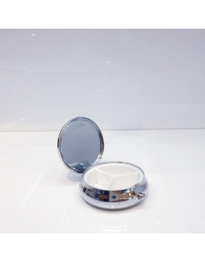 60250639 - Gold Round Pillbox
