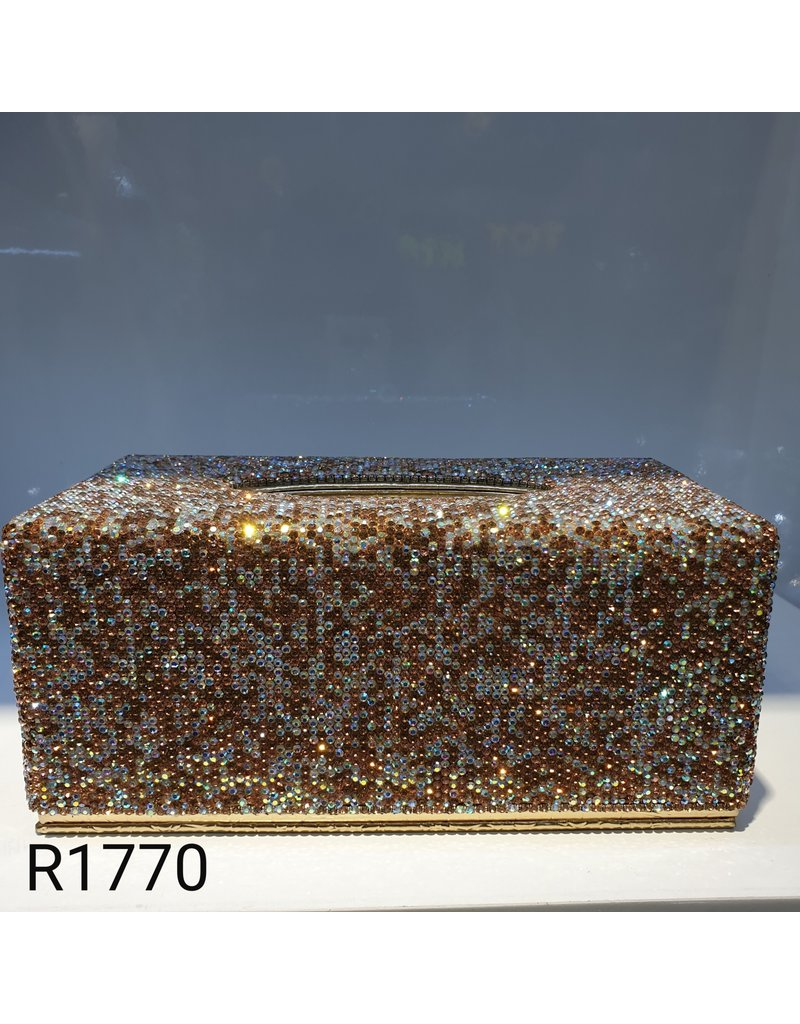 60260011 - Gold Tissue Box