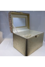 60260035 - Gold Cosmetics Box