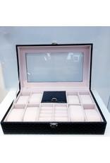 60262067 - Black Silver Jewellery Box