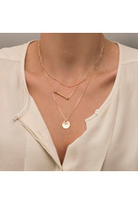 lcb0001 - Gold Multi Layer Necklace