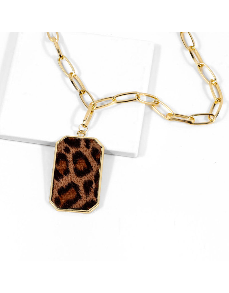lcb0011 - Gold Multi Layer Necklace