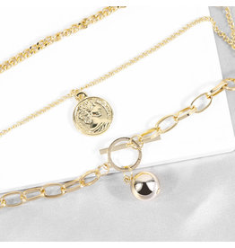 lcb0026 - Three Layer Necklace