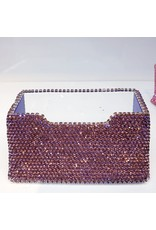 HRF0014 - Purple Business Card Holder