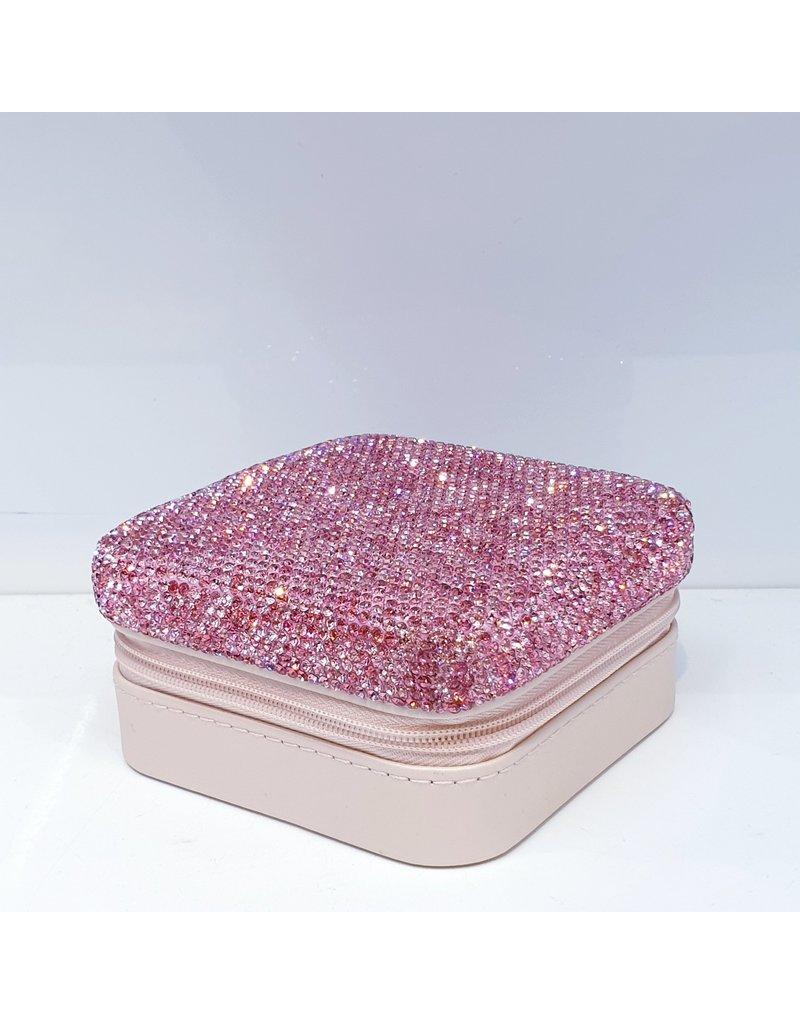 HRF0011 - Pink Jewellery Box
