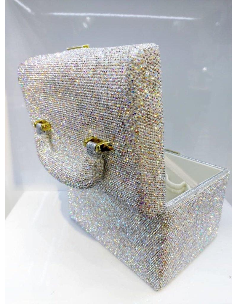 HRF0009 - Silver Vanity Case
