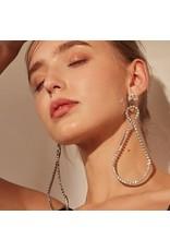 ERG0013 -  Silver, Drop Earring