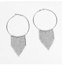 ERG0011 -  Silver Earring