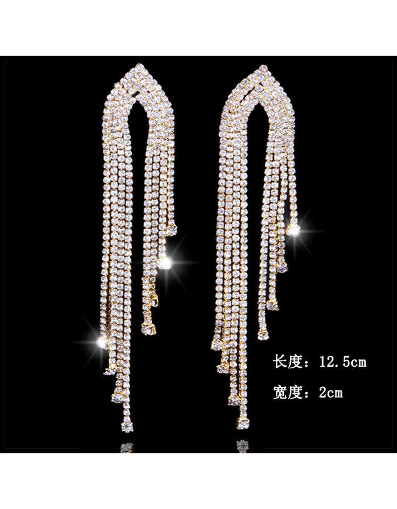ERG0015 -  Silver, Drop Earring