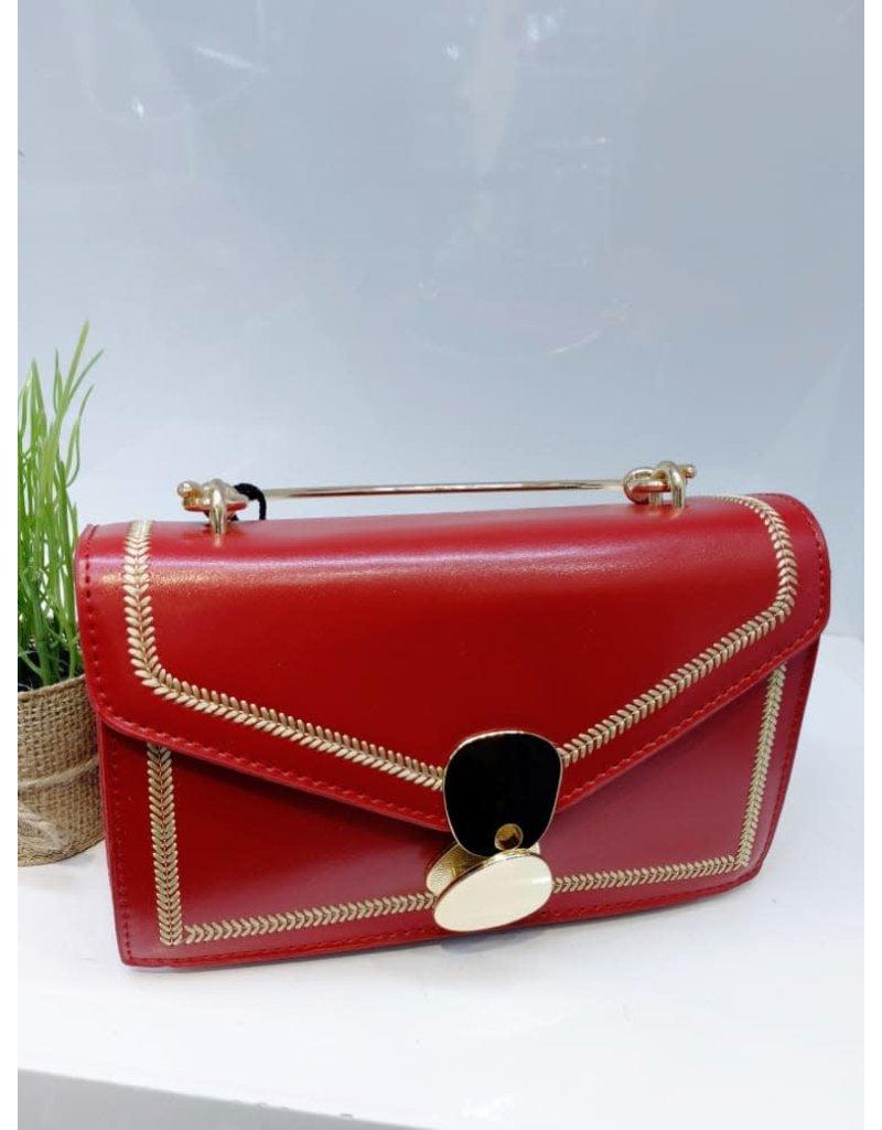 HBA0004 -  Red Handbag