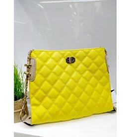 HBA0012 -  Yellow Handbag