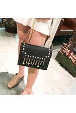 HBA0015 -  Black, Sling Handbag