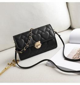 HBA0019 -  Black, Sling Handbag