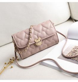 Pink, Sling Handbag