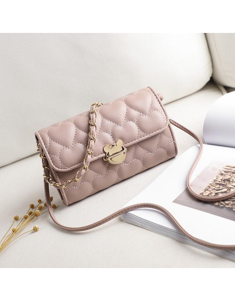HBA0021 -  Pink, Sling Handbag