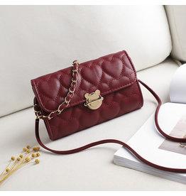 HBA0020 -  Maroon, Sling Handbag