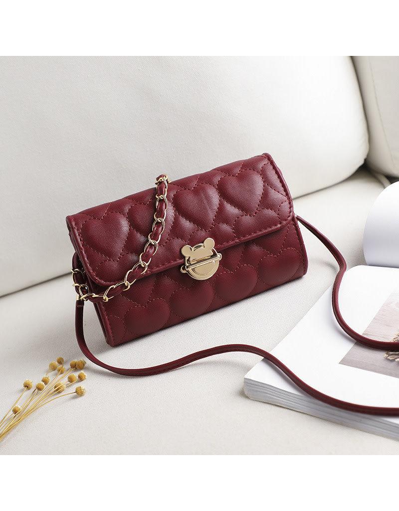Maroon, Sling Handbag
