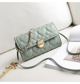 Green, Sling Handbag