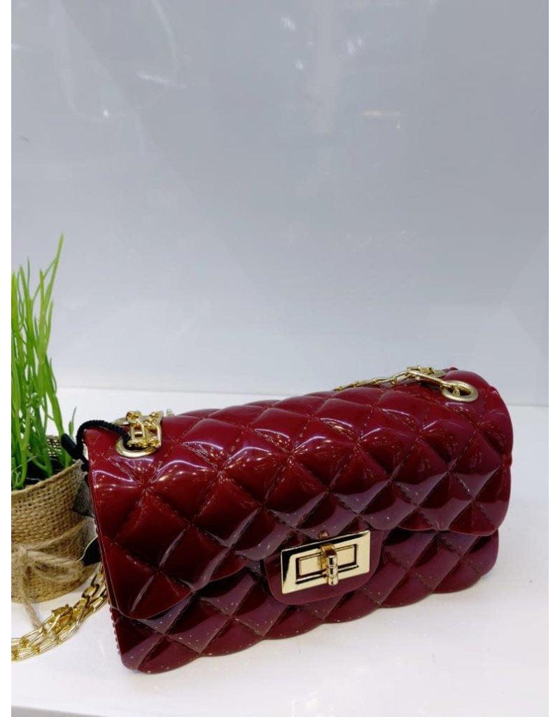 HBA0024 -  Red, Sling Handbag