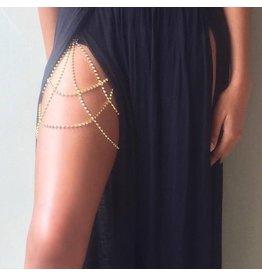 MCA0010 -  Silver Leg Jewellery