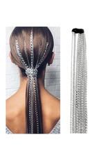 MCA0009 -  Silver 3 Piece Hair Jewellery Hair Jewellery