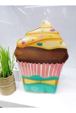 NCA0002 -  Orange, Pink, Cupcake Novelty Clutch