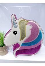 NCA0016 -  Pink, Unicorn Novelty Clutch