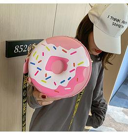 Pink, Doughnut Novelty Clutch