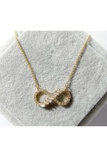 SCC0002 -  Gold Infinity Necklace