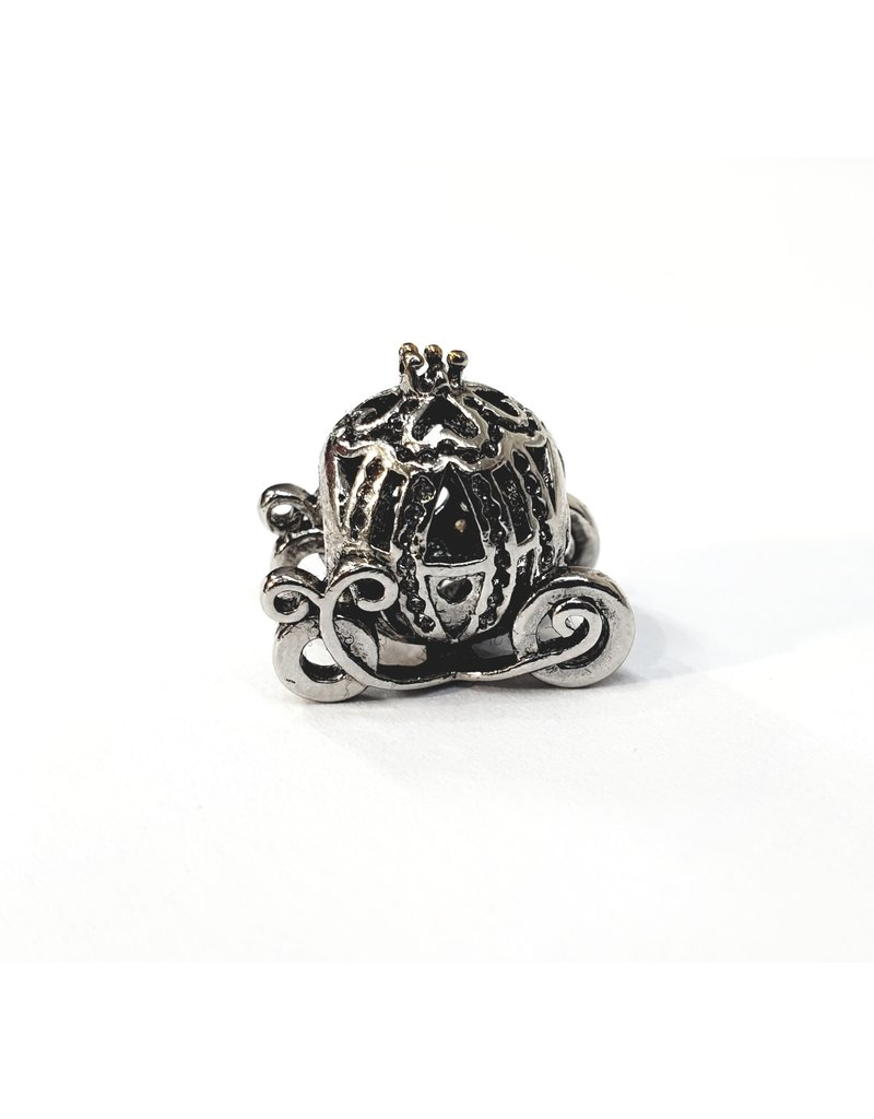 50313460 - Silver Cariage Charm