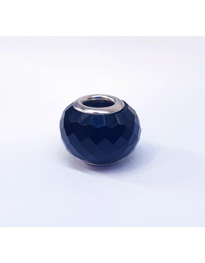 50313436 - Large Black Ring Charm