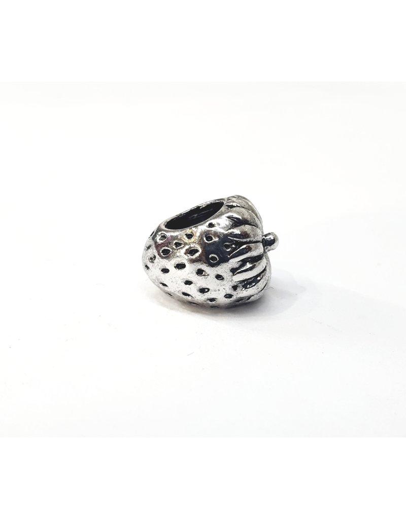 50313468 - Silver Strawberry Charm