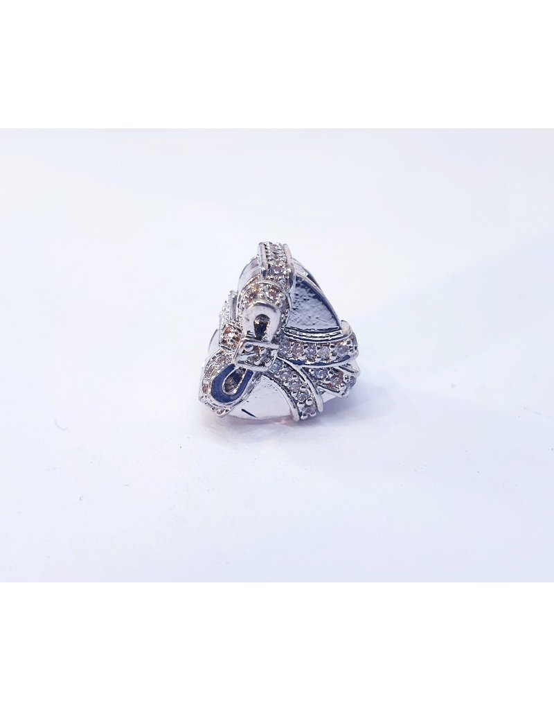 50313467 - Silver Heart Gift Charm