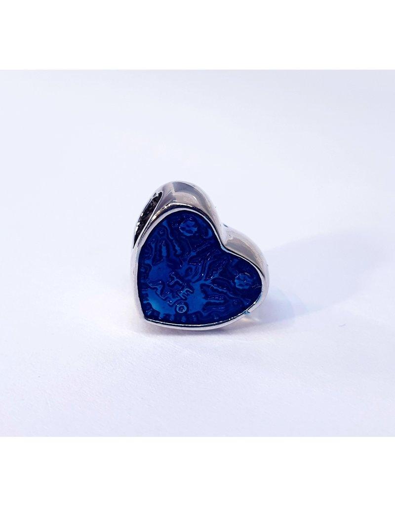 50313504 - Blue Heart Charm