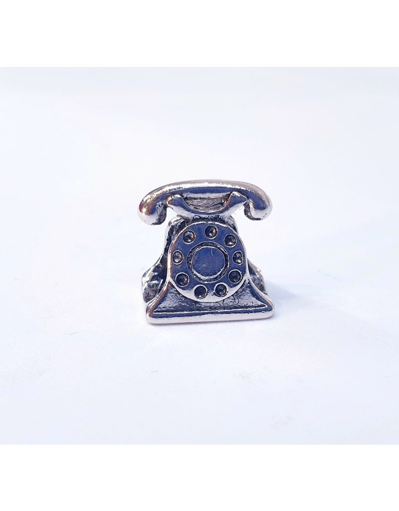 50311801 - Silver Telephone Charm