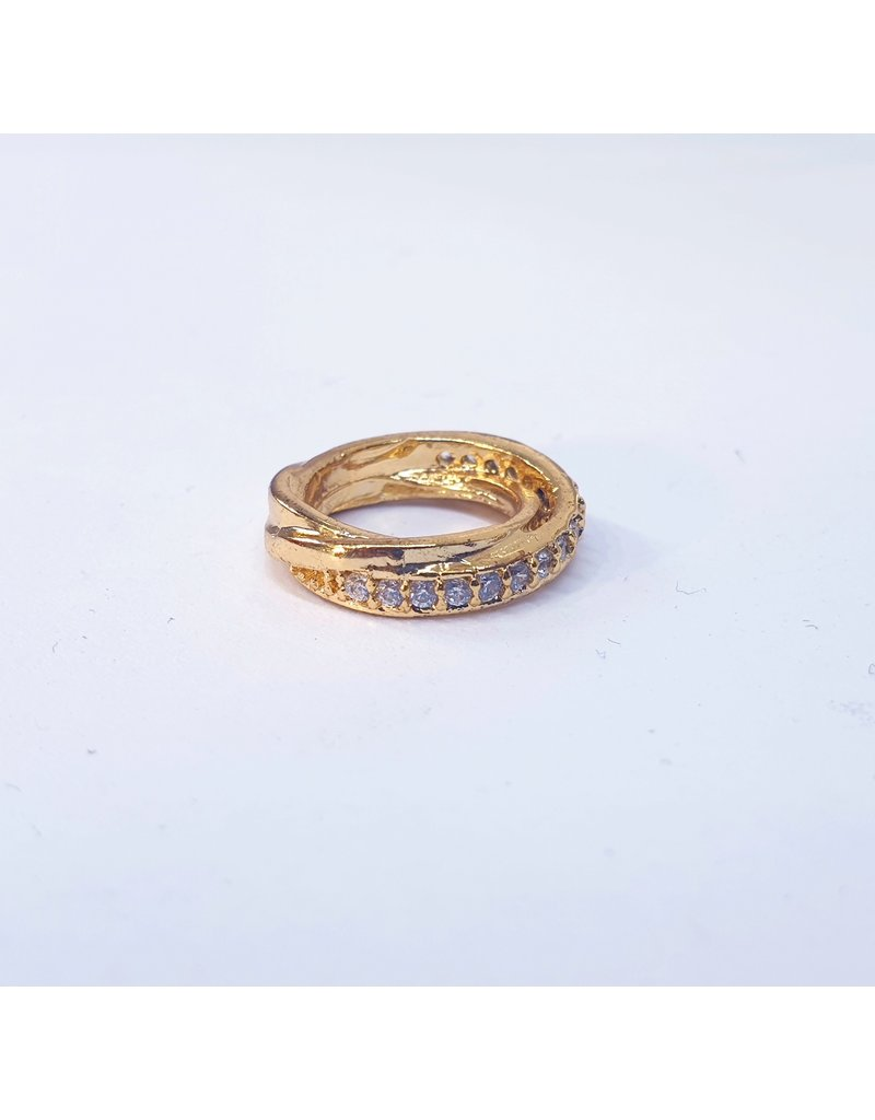 50311809 - Gold Ring Charm