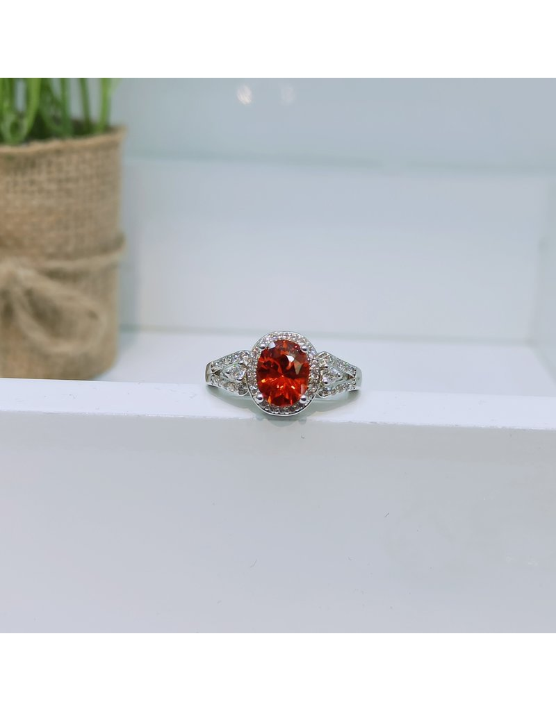 RGC180126 - Red, Silver Ring