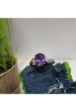 RGC180131 - Purple, Silver Ring