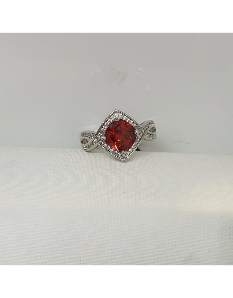 RGC180133 - Red, Silver Ring