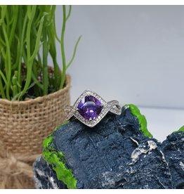 RGC180135 - Purple, Silver Ring