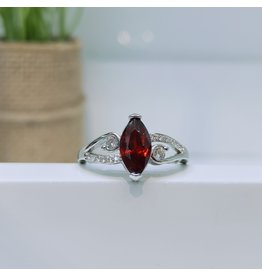 RGC180136 - Red, Silver Ring