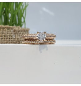 RGC160006 - Rose Gold Plated Ring