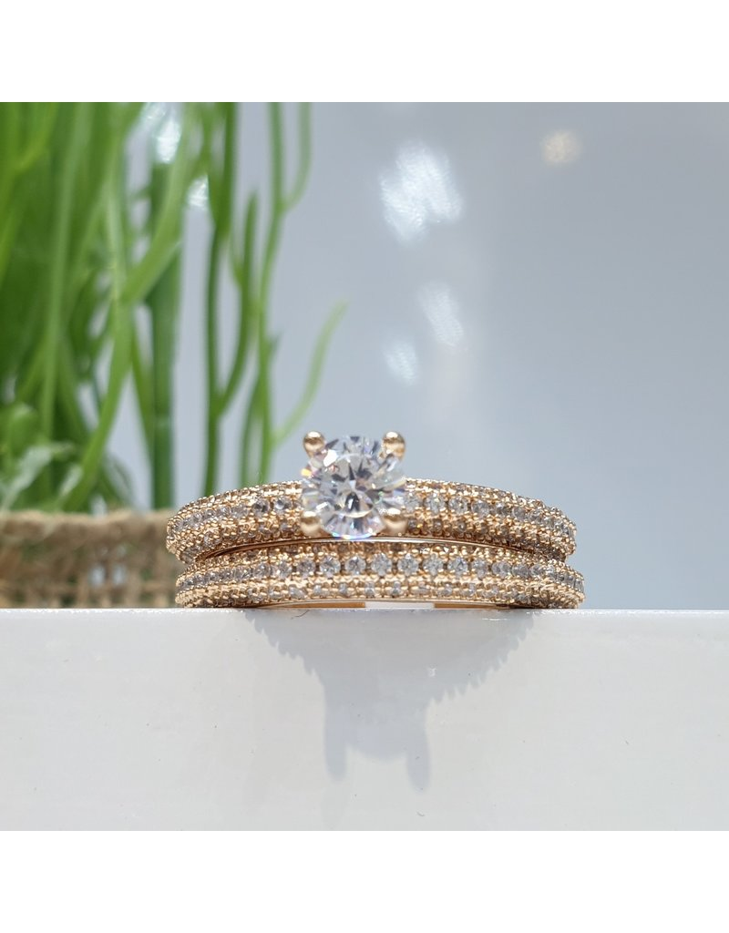 RGC170006 - Rose Gold Plated Ring