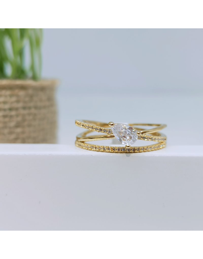 RGC180011 - Gold Plated Ring